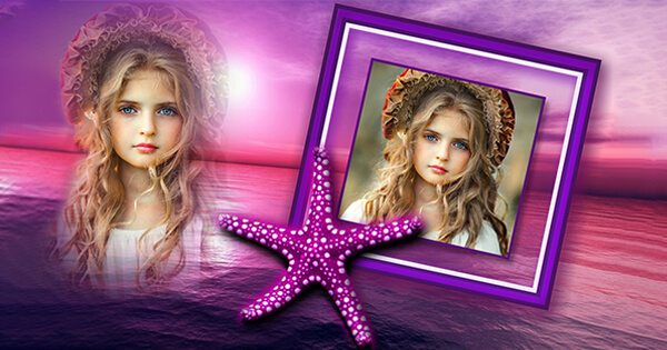See you romantic photos with purple starfish here!