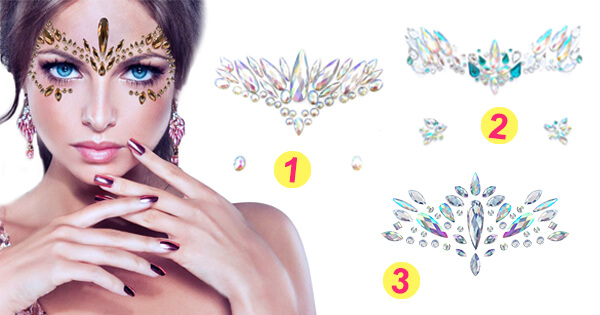 Create Your Beautiful Photo With Rhinestone Face Effect